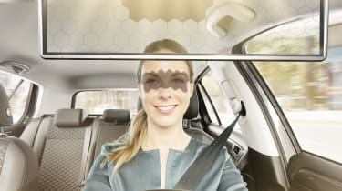 Bosch virtual visor - lady