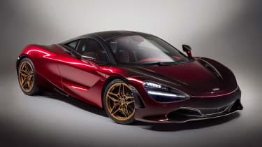 McLaren 720S Velocity front quarter