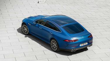 Mercedes-AMG GT 4-Door 2021 facelift blue - rear