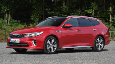 Kia Optima Sportswagon - front static