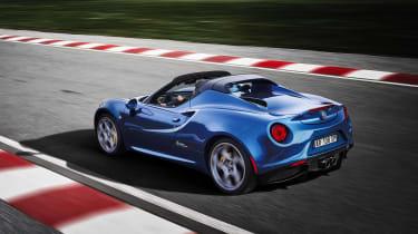 Alfa 4C Blue