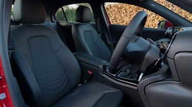 Mercedes A 180 SE - seats