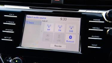 Toyota Camry - infotainment screen