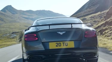 Bentley Continental GT Supersports 2017 - video rear