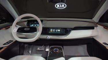 Kia Niro EV - CES dash