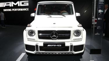 Frankfurt - Mercedes-AMG G wagon - grille