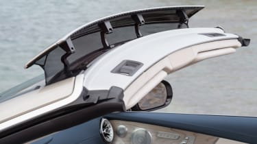 Mercedes E-Class Cabriolet 2017 - AMG Line front wind deflector