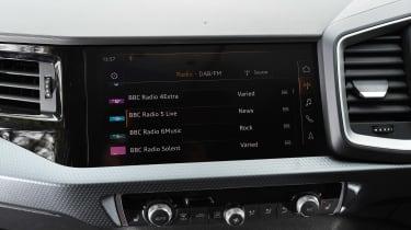 Audi A1 - radio