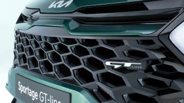 Kia Sportage - grille