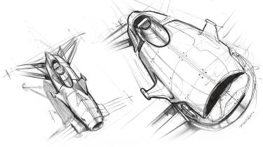 Airspeeder Mk3 - sketch