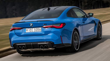 BMW M4 Competition xDrive - rear