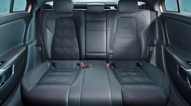 Mercedes A-Class saloon - rear seats