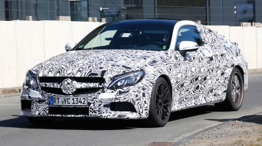 Mercedes is readying the latest addition to the superhot AMG lineup: The scorching C63 Coupe.