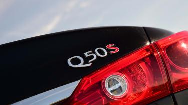 Infiniti Q50 S 2017 - rear badge