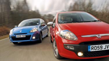 New Punto vs. Clio
