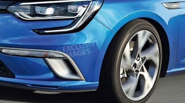 Renault Megane estate detail - exclusive picture