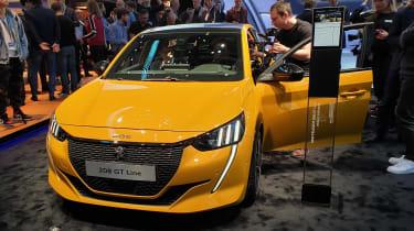 Peugeot 208 - Geneva front