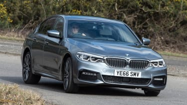 BMW 5 Series 2017 - 540i front cornering