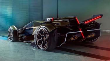 Lamborghini Lambo V12 Gran Turismo - rear 3/4 static