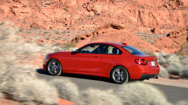 BMW M235i 2014 desert