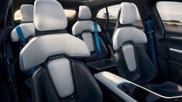 Porsche Mission E Cross Turismo - seats