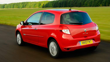 Renault Clio 1.2 TCe Dynamique rear tracking