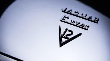 """Unleashed"" Jaguar E-Type restomod - badge"