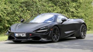McLaren 750LT - spyshot 3