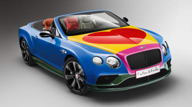 Bentley Peter Blake Art Car - front three quarter