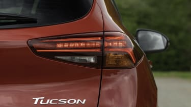 Hyundai Tucson N Line - rear lights