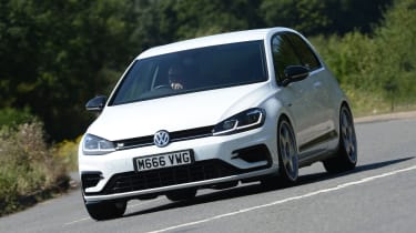 Mountune VW Golf R - front cornering
