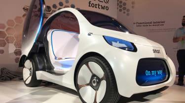 Smart Vision EQ ForFour concept - reveal front