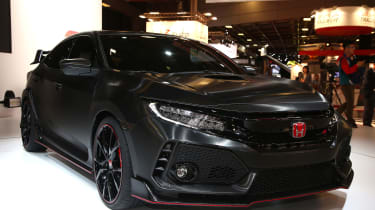 Honda Civic Type R prototype front