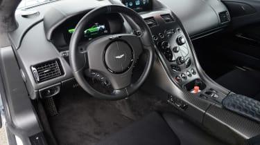 Aston Martin Rapide E - dash