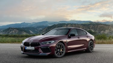 BMW M8 Gran Coupe - front static