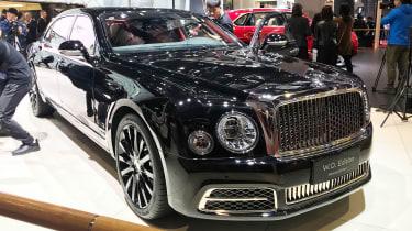 Bentley Mulsanne W.O. Edition - Shanghai front