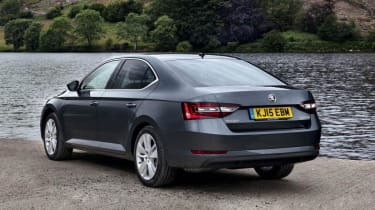 Skoda Superb - rear