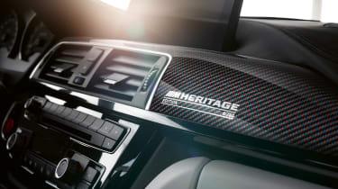 BMW M4 M Heritage Edition - dashboard