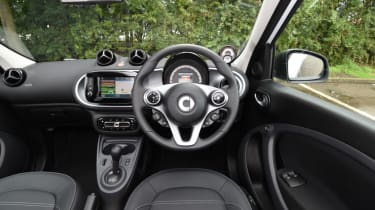 Smart ForFour ED - cockpit