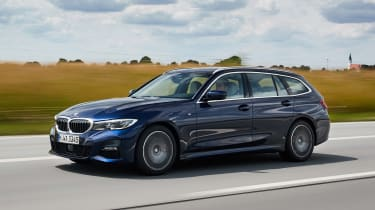 BMW 3 Series Touring - front/side