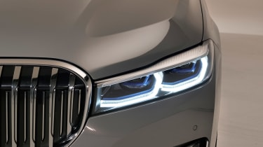BMW 7 Series facelift - front light head on