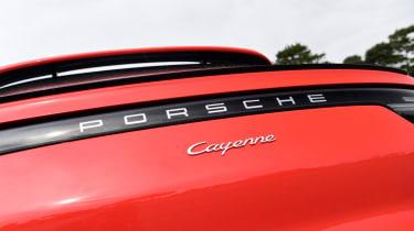 Porsche Cayenne Coupe - badge