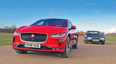Jaguar XJ40 vs Jaguar I-Pace - header