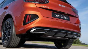 Kia Ceed facelift - rear detail