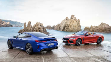 BMW M8 Competition Coupe and Convertible
