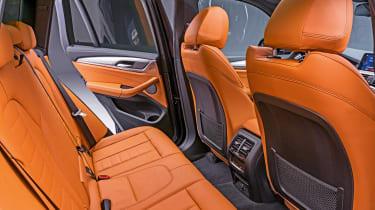 New BMW X3 - rear seats