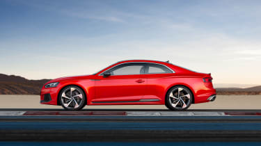 Audi RS5 side on