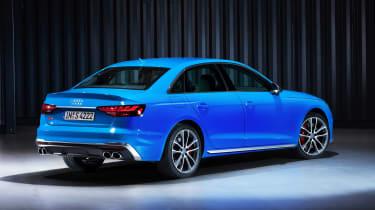 Audi S4 - studio rear