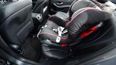 Mercedes GLC long-term third report - car seat