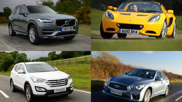 Best car deals under £500 per month